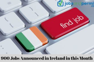 900 Jobs Announced in Ireland in this Month